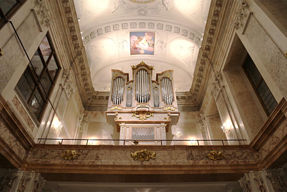 Orgel Schlosskapelle Schönbrunn